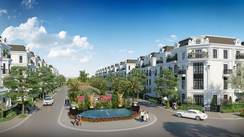 Elegant Park Villa – Một Paris thu nhỏ đang hình thành phía Đông Hà Nội